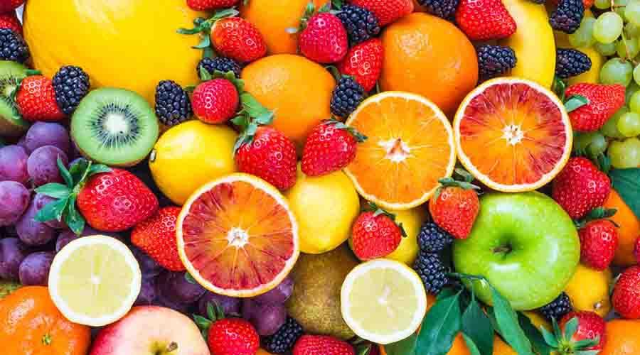 menghilangkan bekas jerawat dengan buah