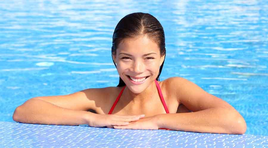 berenang saat jerawatan