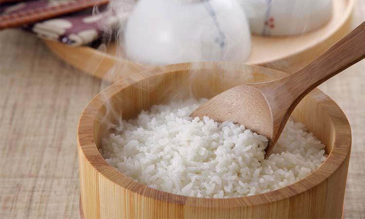 uap nasi untuk wajah