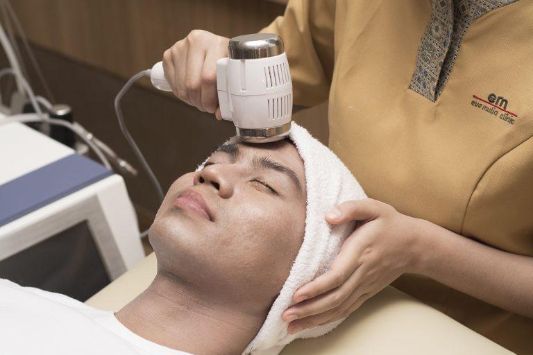 skin tightening for man